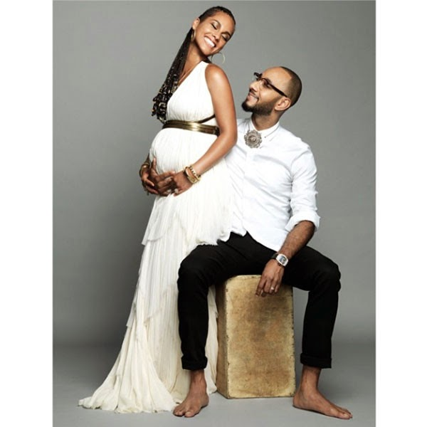 Sunday Picture Snaps: Alicia Keys & Swizz Beatz' Baby Shower