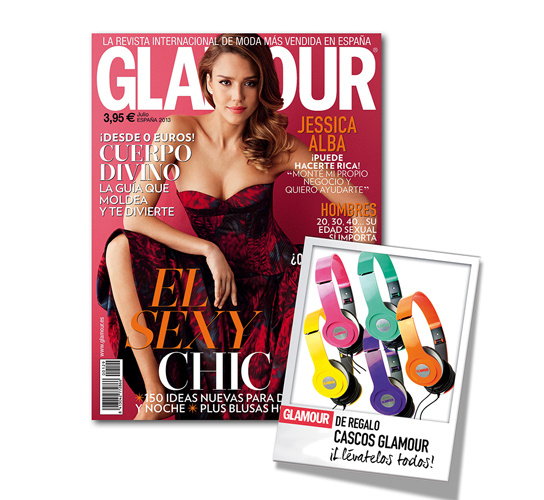 Revista Glamour Julio 2013