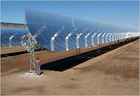 Decreasing cost of PV solar panels change the use of CSP in Blythe Project