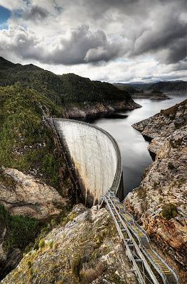It's about Gordon Dam