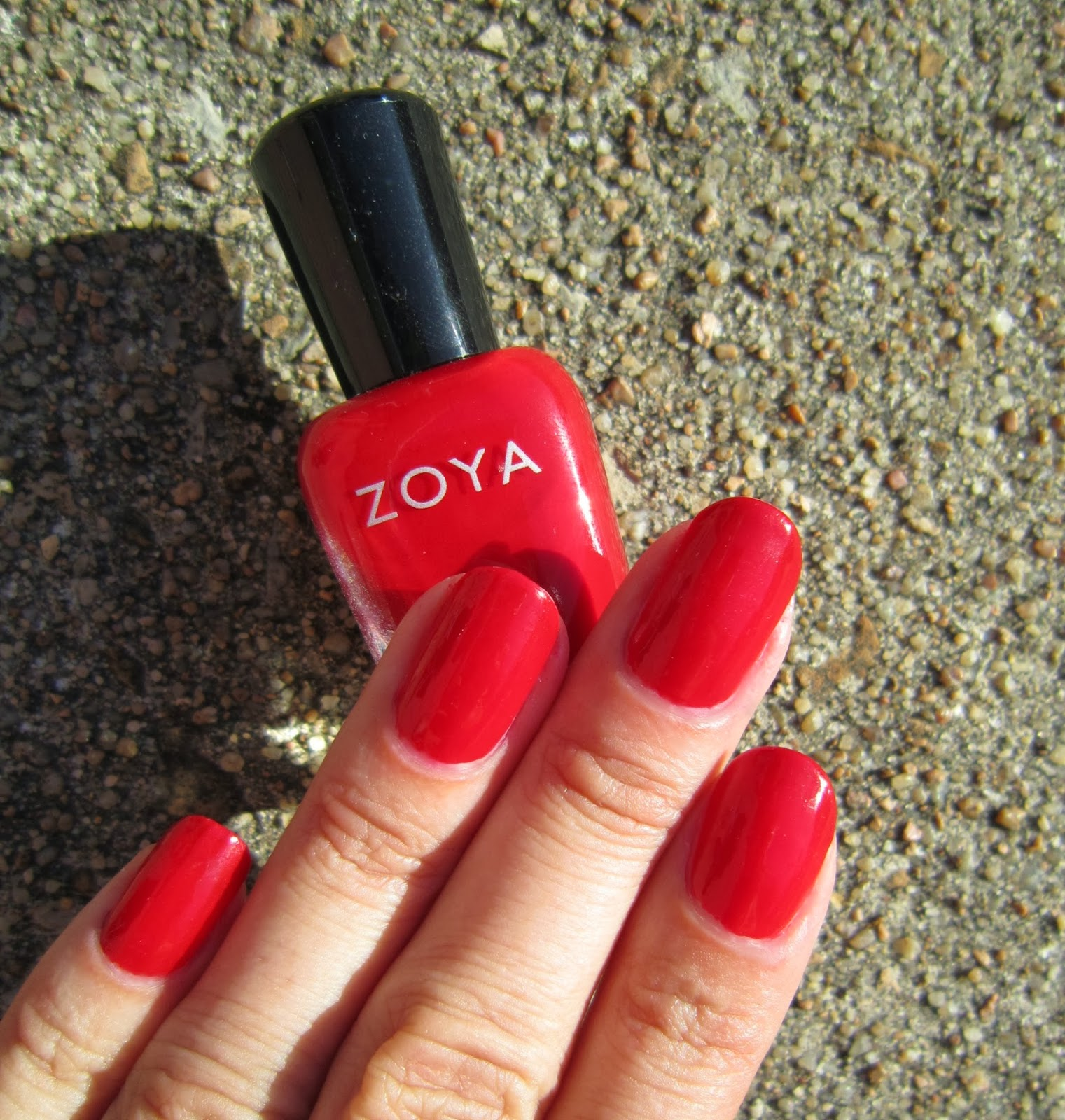 Zoya scarlet
