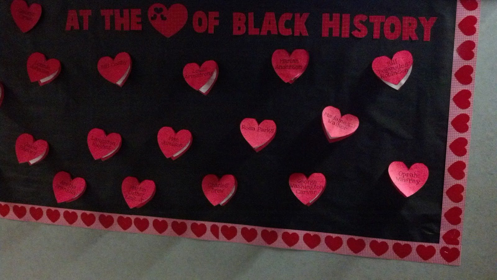 Black history archives fun in first for Black bulletin board ideas