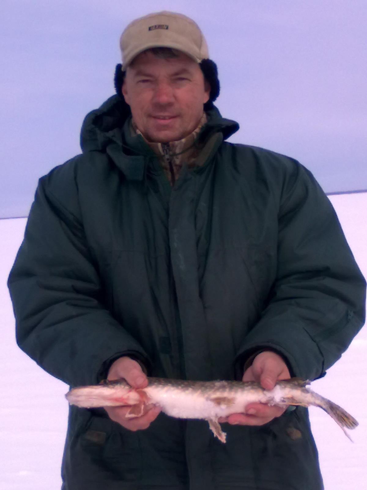 Зимняя рыбалка. Щука на мормышку