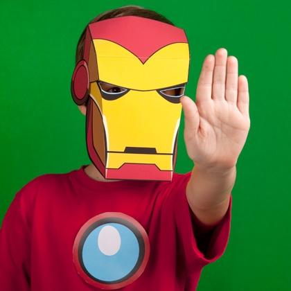 Sasaki Time: Craft Time: Iron Man Mask