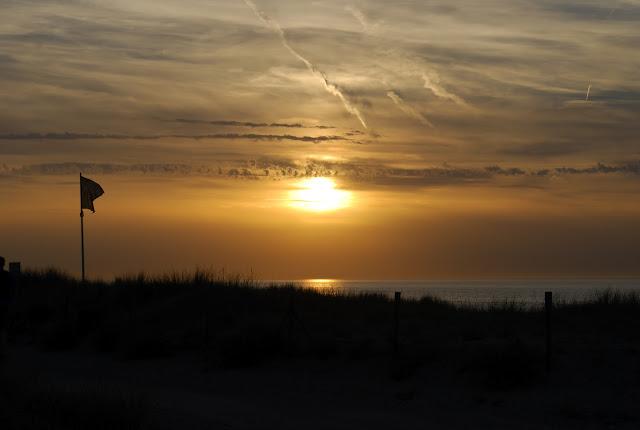 sunset, papludimys, saulelydis