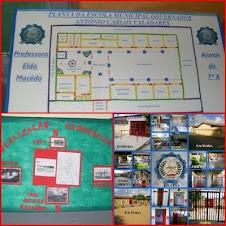 Mapa e localização da Escola Valadares
