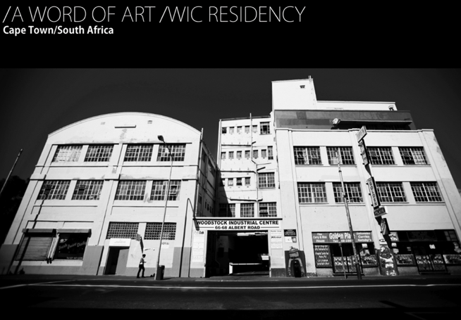 /A WORD OF ART RESIDENCY /BOAMISTURA