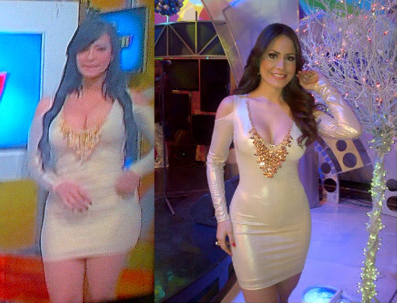 """La presentadora Jenny Blanco de """"Extremo a Extremo"""" (Digital 15) y una ..."""