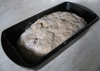 making homemade bread