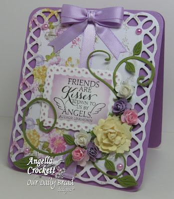"""Our Daily Bread designs """"Sentiments Collection"""" Designer Angie Crockett"""