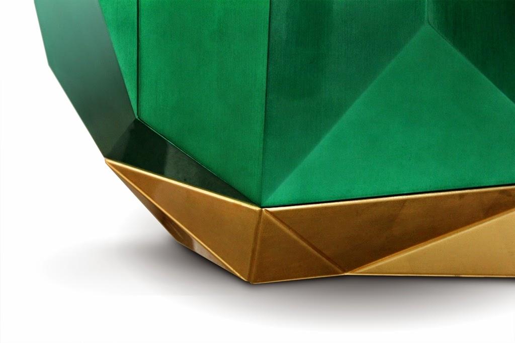 эксклюзив тумба гостиная золото дизайн гламур изумруд