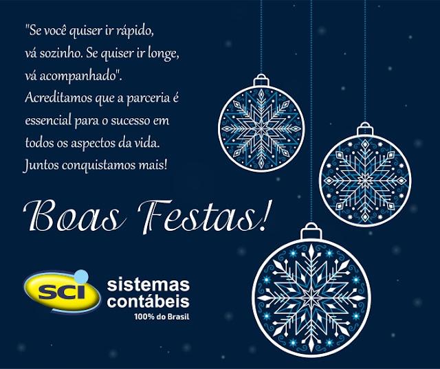 Feliz Natal e que o ano vindouro seja repleto de felicidades!