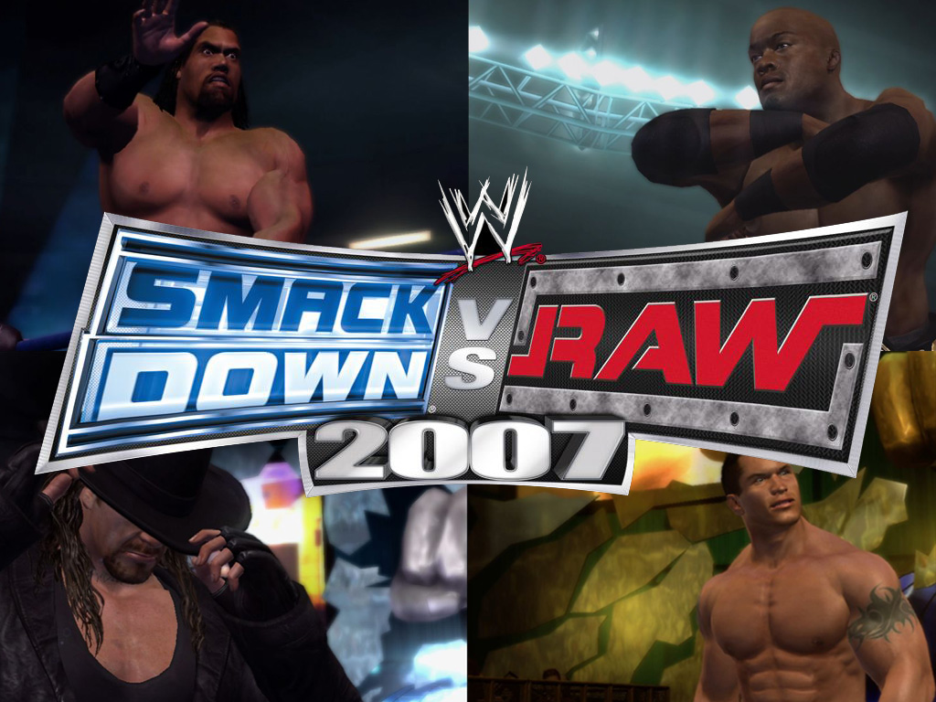 WWE Raw vs Smack Down 2007 Wwe-smackdown-vs-raw-2007