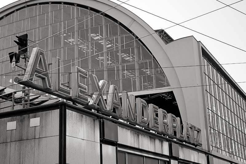 Alexander train station Berlin