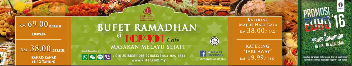 Promosi Istimewa Bufet Ramadhan