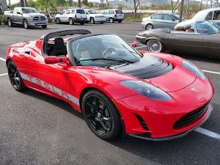 Tesla Roadster Coupe