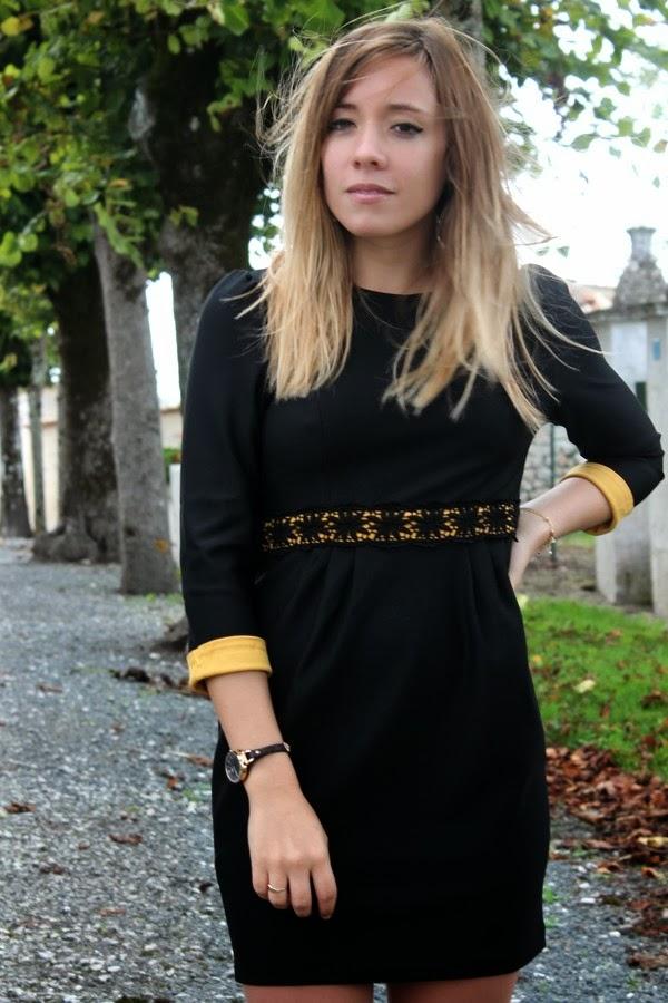 Robe oasap noire