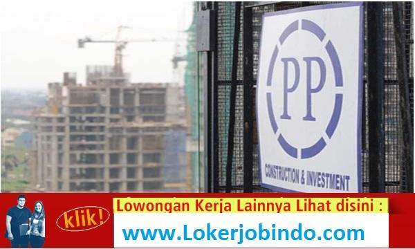 Lowongan Kerja Professional PT PP (Persero)Tbk