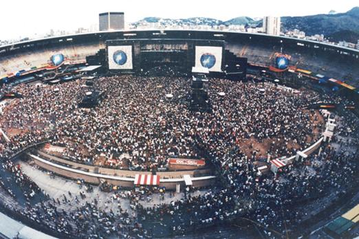 show do rock in rio no maracanã 1991