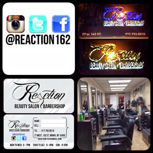 Te quieres arreglar y ver bien? Pues REACCIONA! Visita Reaction Beauty Salon & Barbershop