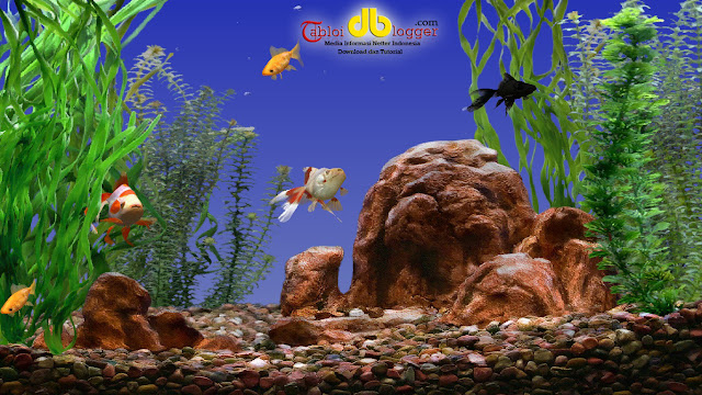 Goldfish Screensaver Aquarium