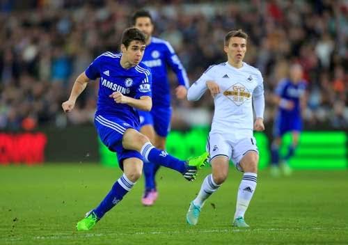 Swansea City vs. Chelsea 0-5 Highlight Goal Premier League 17-01-2015