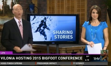 Bigfoot in Arkansas 2015