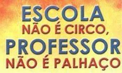 TODOS PELA VALORIZAÇÃO DA EDUCAÇÃO, JÁ!