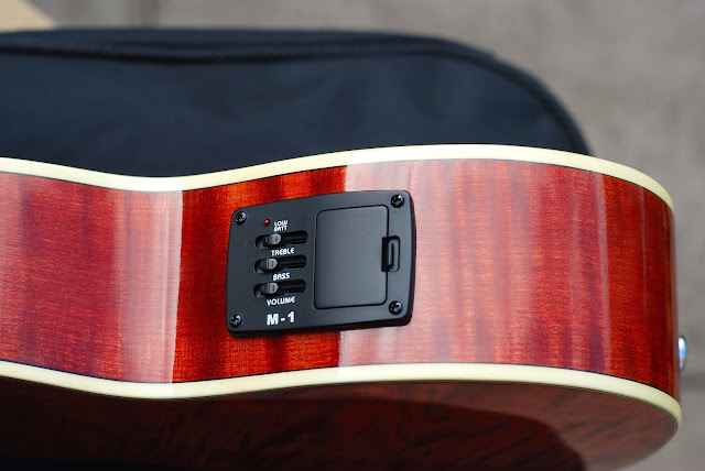 Barnes and Mullins Calthorpe ukulele pickup EQ