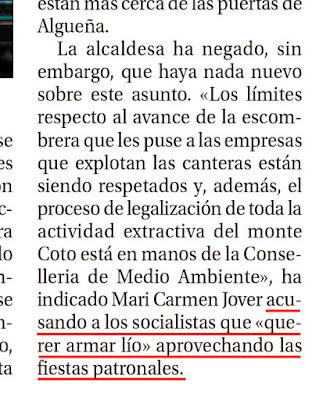 diario Información alcaldesa algueña alguenya