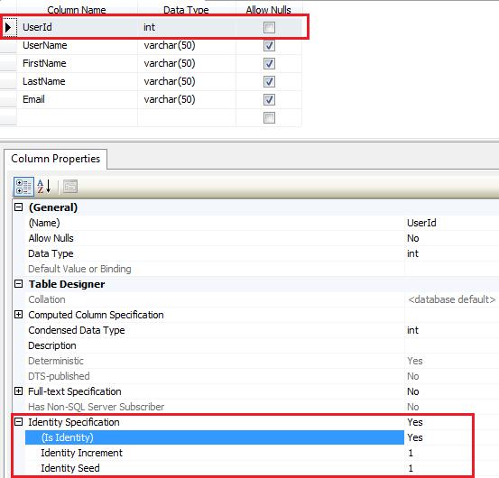 Sql server add auto increment column or set auto increment column sql server management studio - Sql create table auto increment ...