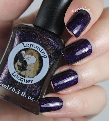Lemming Lacquer I'll Give You Darkness