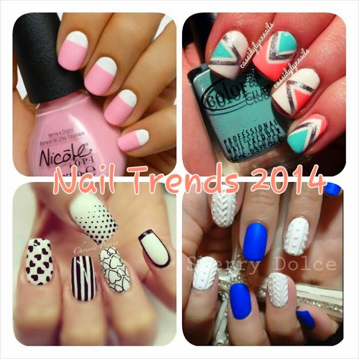 That Fashion Chick: DIY: Nail Trends for Summer 2014