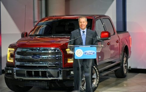 Production of 2015 F-150 Brings 850 Jobs to Rouge Center