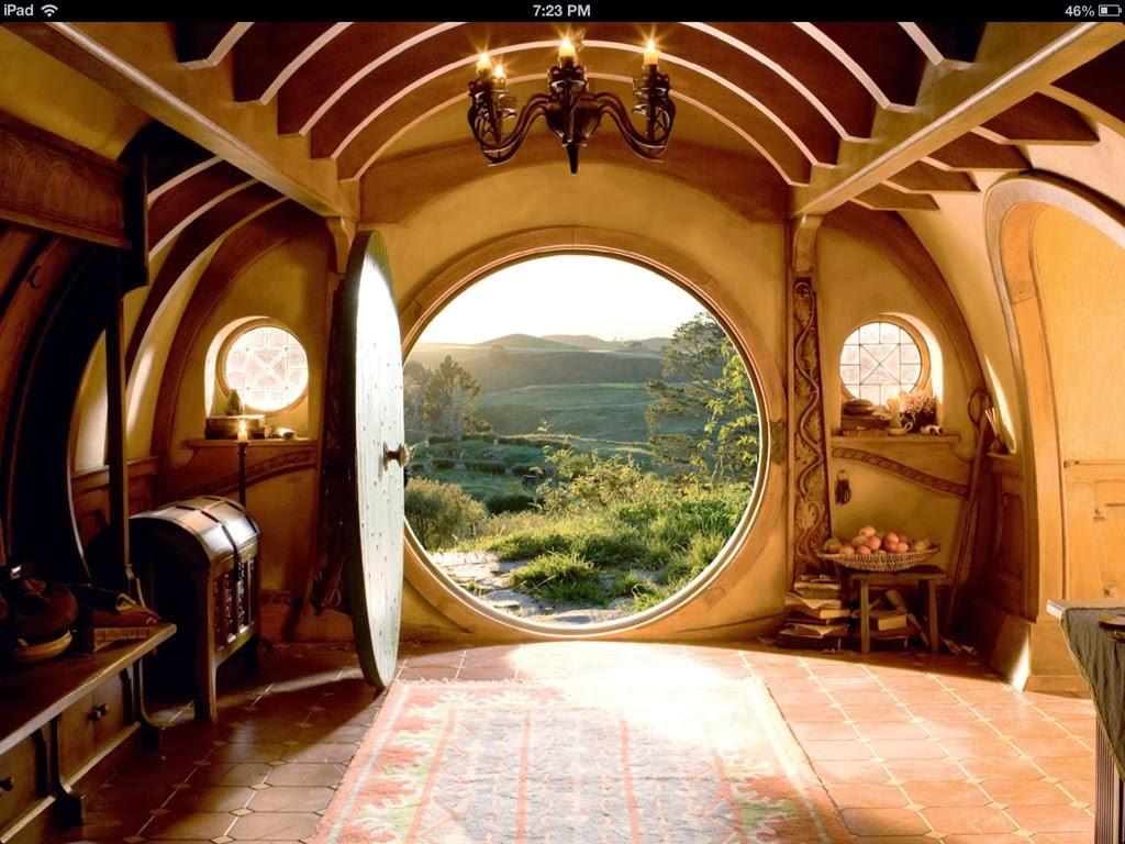 Hablamos de el hobbit decoraci n patri blanco - La casa de los hobbits ...