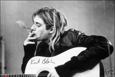 Vos chanteurs/groupes préférés - Page 3 Kurt+Cobain+Nirvana