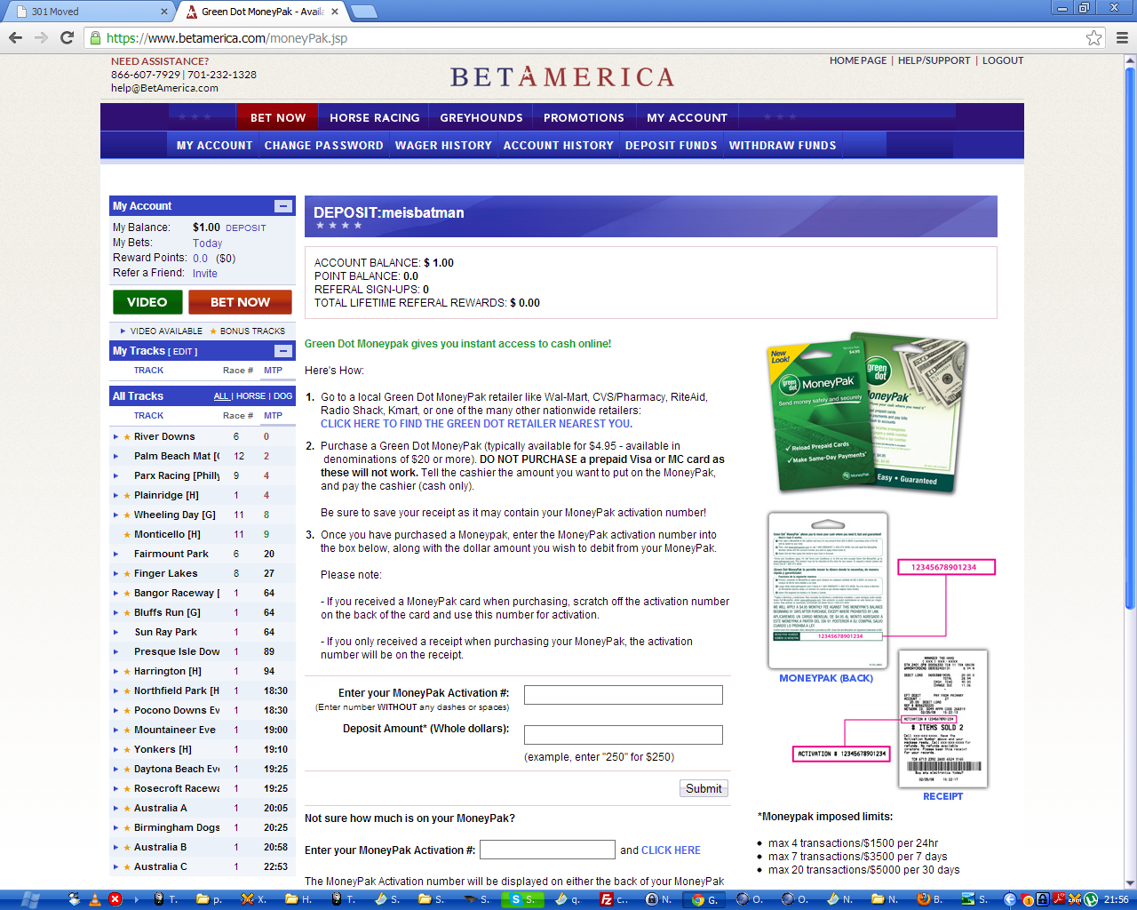 moneybak green dot moneypak customer care complaints and reviews  money laundering betamerica com is an online gambling site they probably use this service to launder