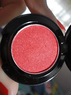 Pinkies Collections Fuchsia Red Eyeshadow @ Beauty Bunker