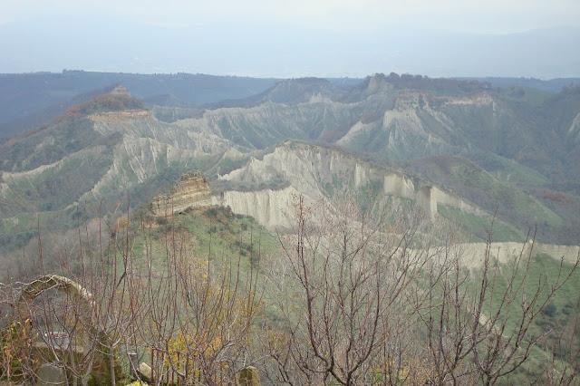 View from Civita di Bagnoregio