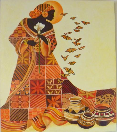 Pin 10 cuadros florales modernos abstractos acrilicos - Cuadros florales modernos ...