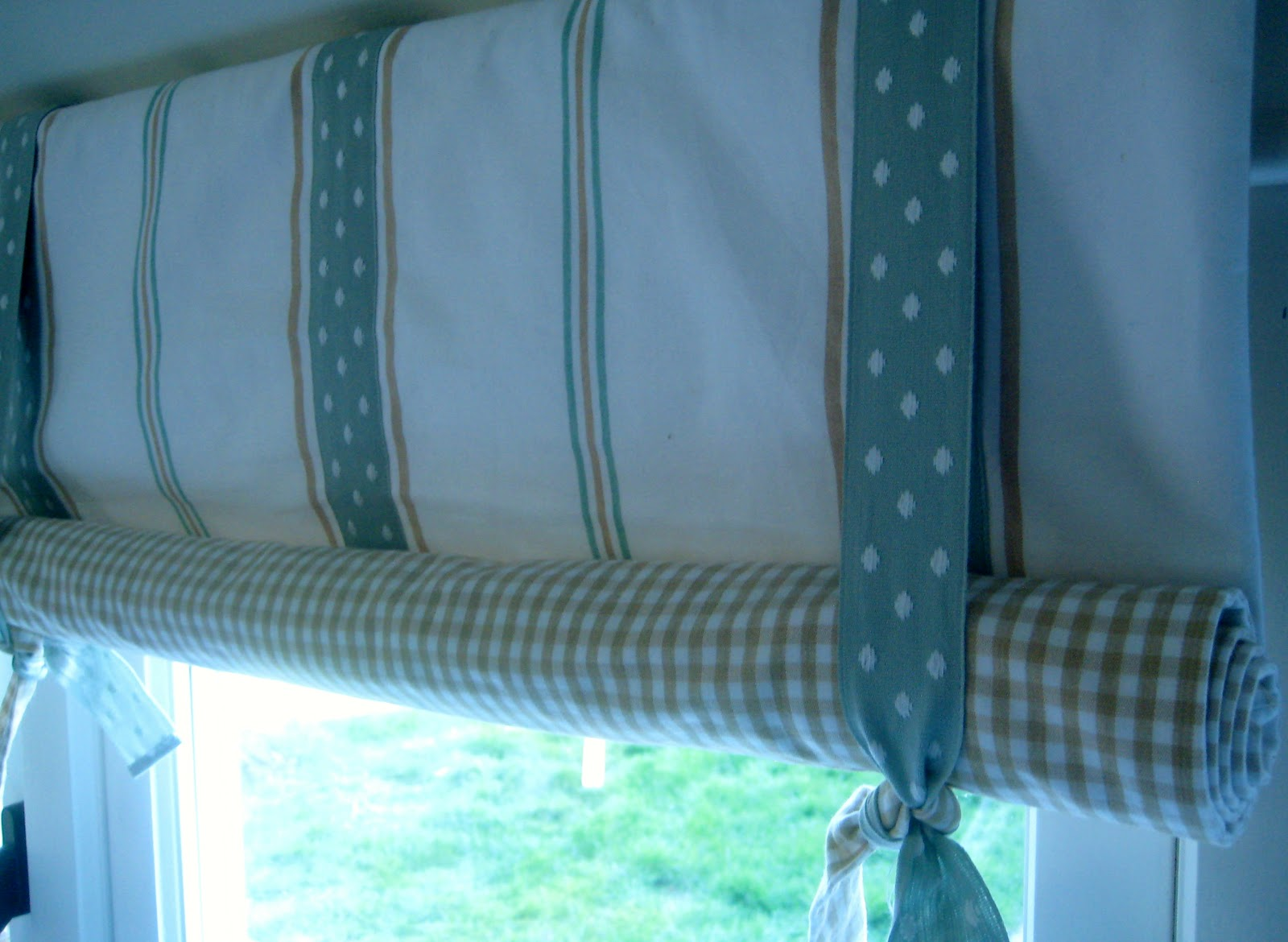 How to make roll up curtains - How To Make A Rolled Up Blind