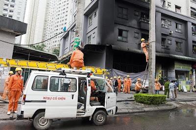 hỏa hoạn xảy ra tại nhiều chung cư giá rẻ cao tầng