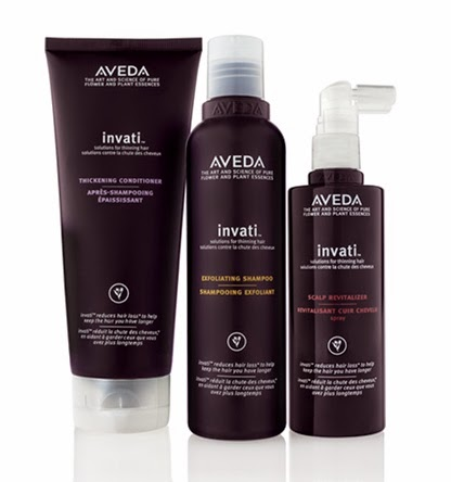 Aveda Invati Product Range