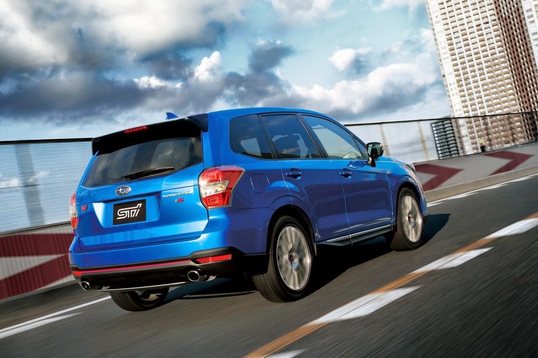 Nuevo Subaru Forester STI tS