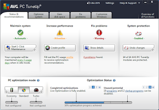 Avg PC Tune Up 2013 12.0.4000.108