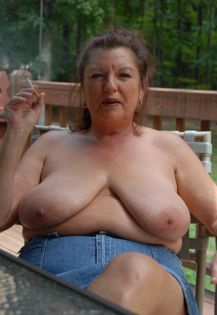 grannies with big saggy boobs nude