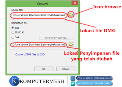 Cara Mengubah (Convert) File DMG Menjadi ISO