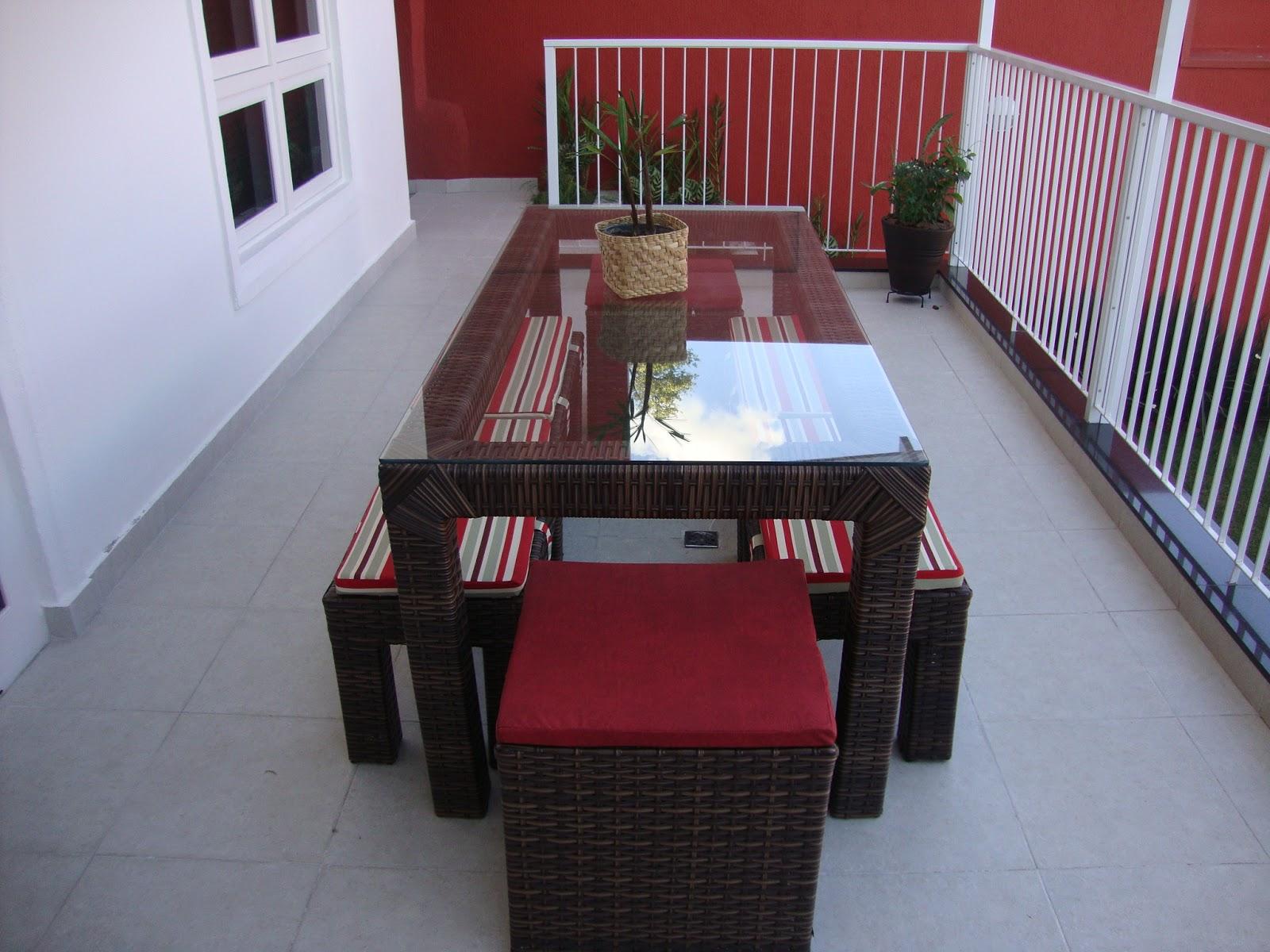 Para sacadas áreas gourmet sala de jantar varandas piscinas e  #732A2E 1600x1200
