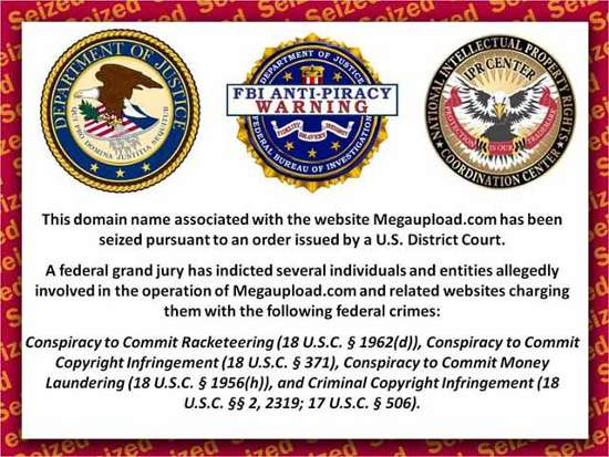 megaupload-FBI-warning