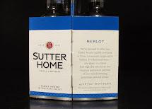 4 Pack Sutter Home Wine Bottles